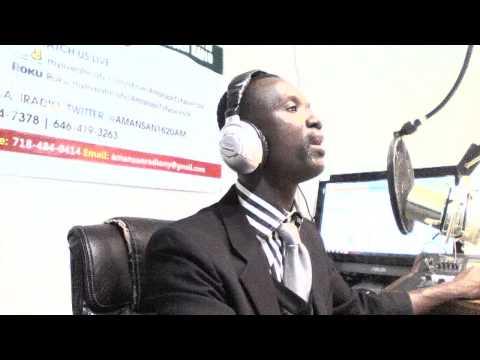Sports Presentation on Amansan Radio
