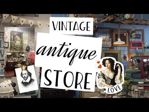 Come shop with me at a Vintage antique store
