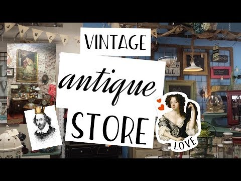 Come Shop With Me At A Vintage Antique Store