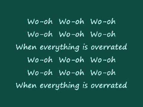 Less Than Jake - Overrated Lyrics video