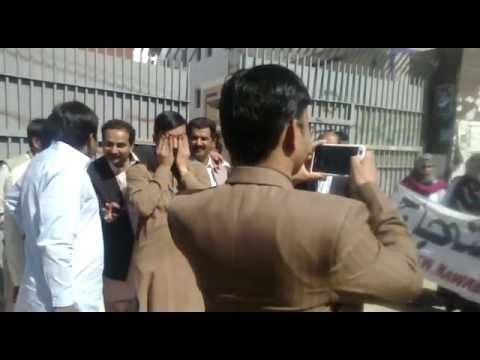 YDA Strike in Nawab shah (PUMHS) 24-02-2012