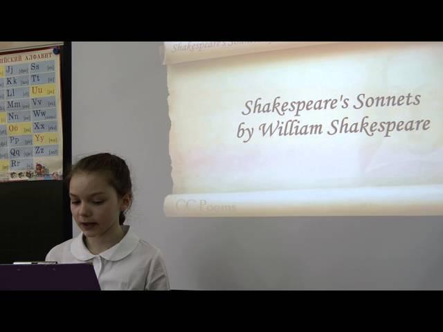 Изображение предпросмотра прочтения – ТатьянаКучер читает произведение «Сонет № 91. Кто хвалится родством своим со знатью…» У.Шекспира