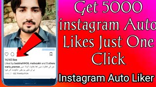 New instagram auto liker app 2019 | Free Unlimited Likes | January 2019 | 100% Working & Safe  |