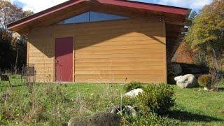 Eco Friendly Prefab Timber Frame House Kit