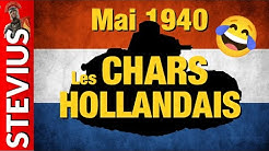 Chars Hollandais mai 1940