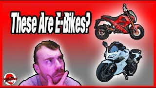 These E-Bikes Are Motorcycle Look A-Likes?