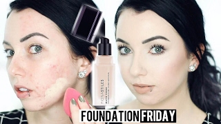 FIONA STILES MATTE FINISH FOUNDATION  Acne/Pale Skin {First Impression Review & Demo!}