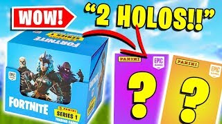 Opening a FULL BOX of Fortnite Trading Cards (PART 3)
