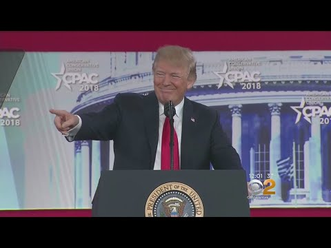 Trump Riles Up Supporters At CPAC