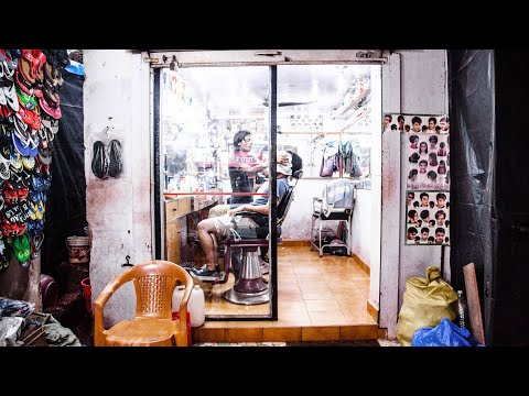 Indian barber Shave/Face Massage/Head Massage (Goa, India)