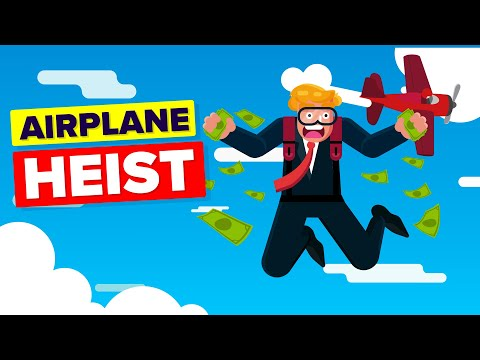 Airplane Heist - Thief Who Hijacked A Plane and Stole A Million Dollars