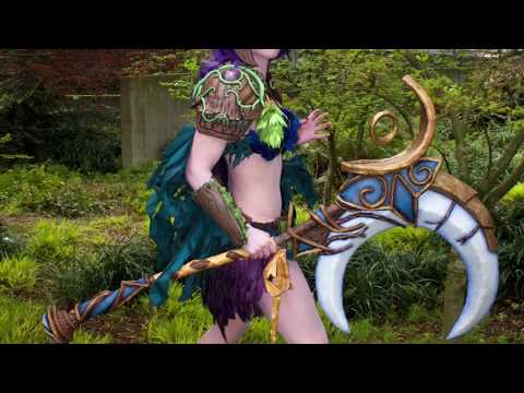 Up Close And Personal: Night Elf Druid Armor [World Of Warcraft]