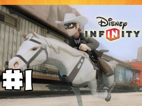 Disney Infinity - Gameplay Walkthrough - Lone Ranger Playset - Part 1 - Saddle Up! (HD)