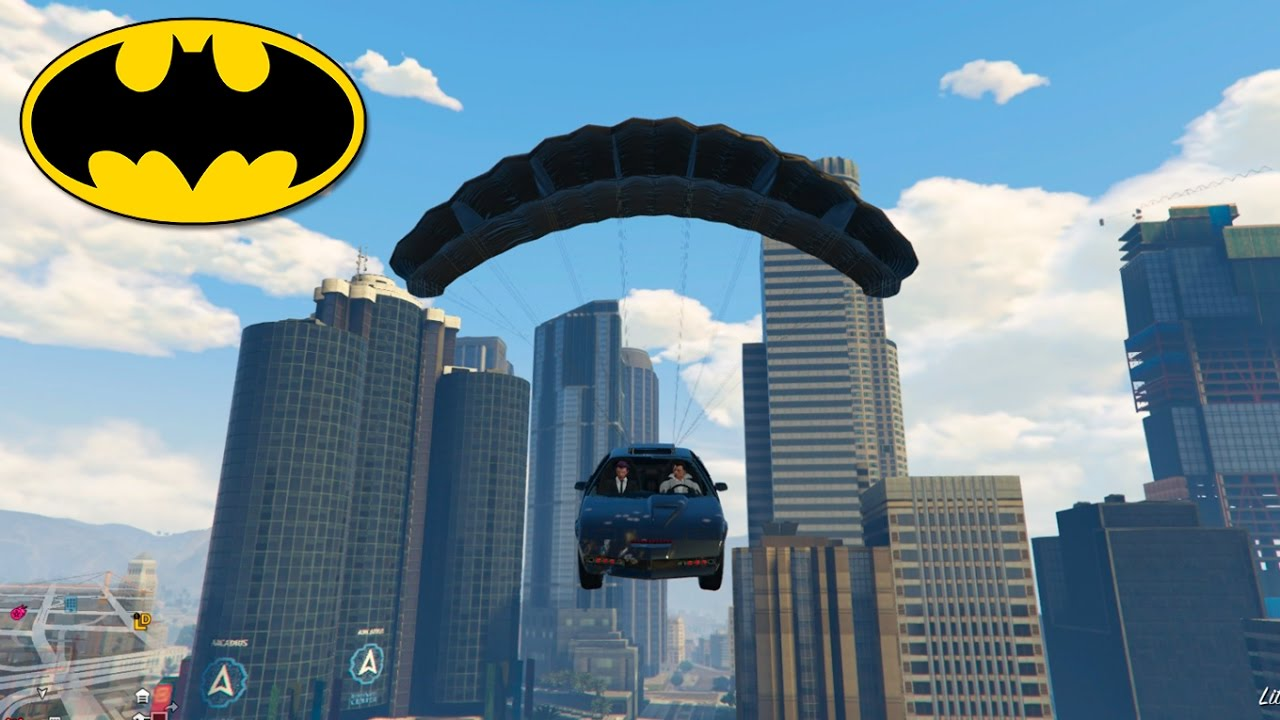 Gta V Online Batman Y Alfred Hijo Con Vegetta Youtube