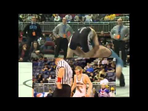 Wyoming High School State Wrestling 2014 Lower Weight Classes - 3/1/14