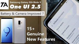 One UI 2.5 vs 2.1, Galaxy S9 P…
