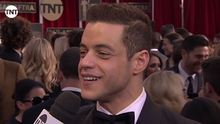 Rami Malek I SAG Awards Red Carpet 2016 I TNT