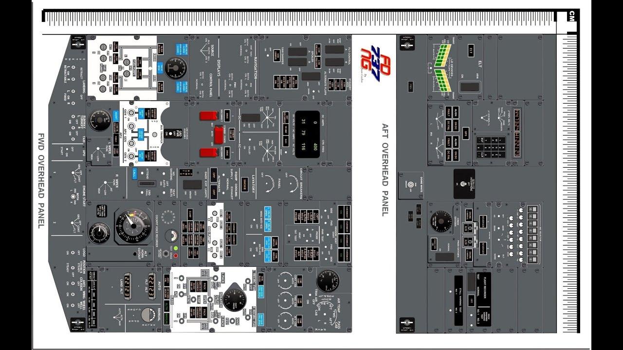B737 800 manual