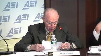 Alan Meltzer: Is Central Bank's Judgement Better Than Any Rule?