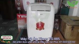 Máy hút ẩm Tiross TS-885 20 lít/ngày