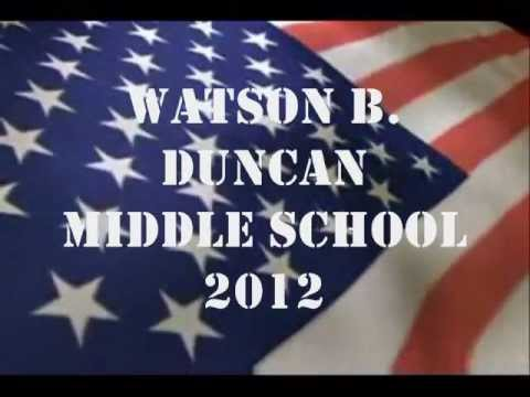 THE MARINE'S HYMM (Watson B. Duncan Middle School)