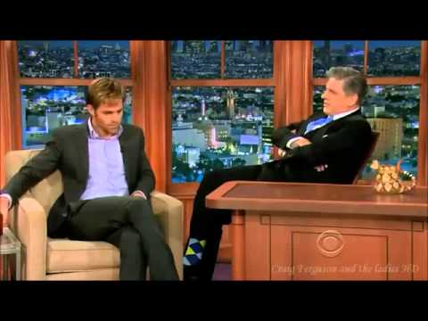 Chris Pine interview HD 17th Jan 2014