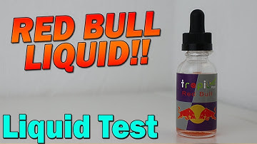 RED BULL LIQUID!! | Tropico | Liquid Test