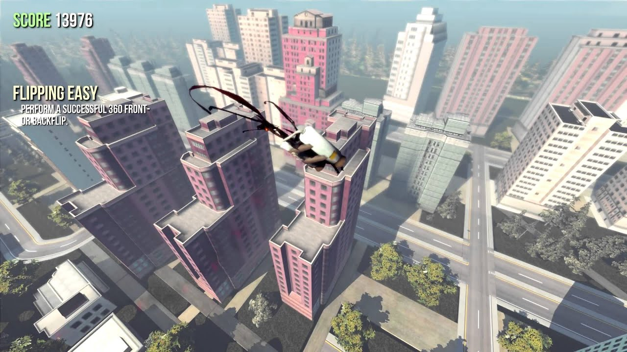 Goat Simulator - How to fly off the map