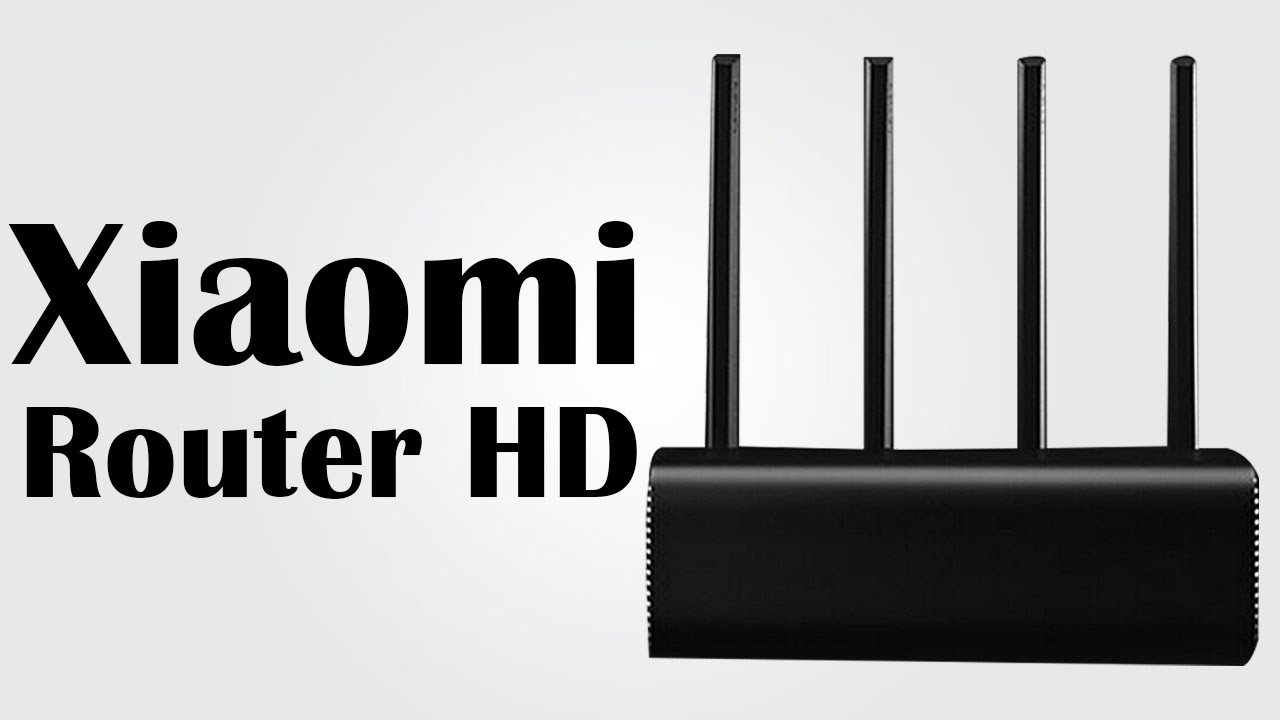 Xiaomi Router HD - 1TB storage / 5G WiFi, max 1733Mbps / Qualcomm 1 4GHz  Dual Core