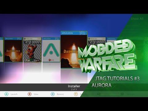 Jtag/RGH Tutorials #3 Installing Aurora (Custom Dashboard)
