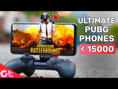 TOP 6 BEST PUBG PHONE UNDER 15000 With HDR, 60 FPS | November 2019 | GT Hindi