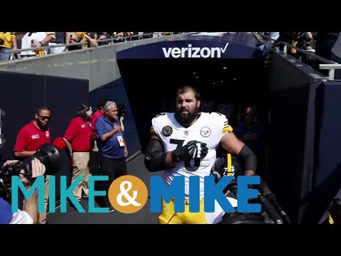Steelers' Villanueva made a tough choice | Mike & Mike | ESPN