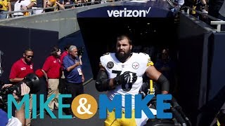 Steelers' Villanueva Made A Tough Choice  Mike & Mike  Espn