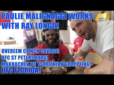 The Weekly Scraps EP 19: Paulie Malignaggi and Ray Longo, Overeem, UFC Florida, Makhachev