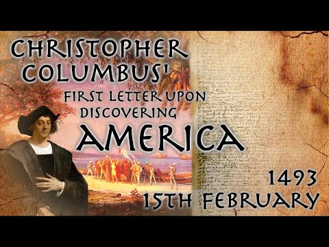 Christopher Columbus' First