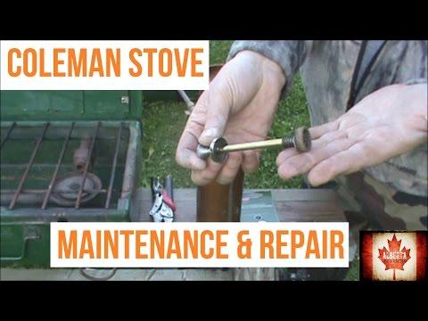 Coleman Stove Maintenance and Repair