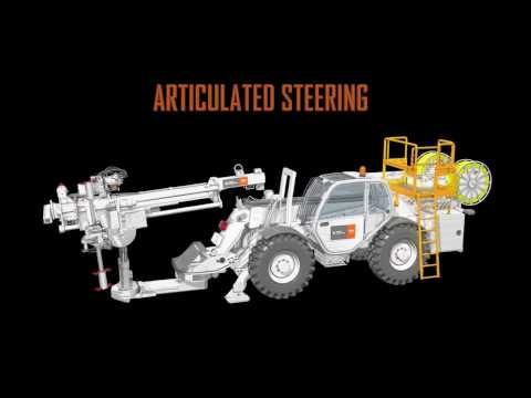MDR700 Underground Coring Mobile Drill Rig