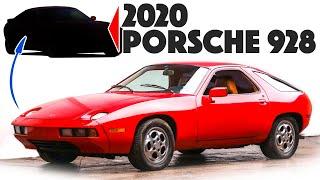 1994 Porsche 928 Re-design - Continental Cruiser