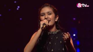 Tiyasa Basu Das - Ae Dil-e-Nadaan - Liveshows -  Episode 19 - The Voice India Kids