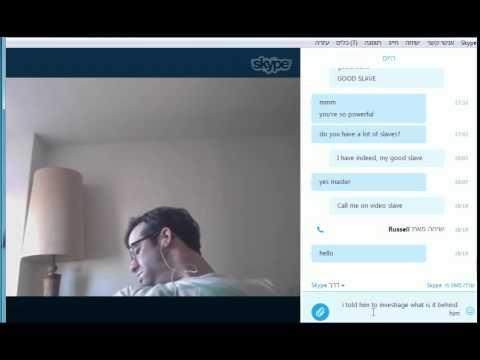 Hypnotizing someone over skype - audio not working  - YouTube