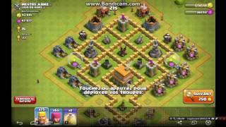 Clash of Clans amélioration hdv 6 à hdv 7
