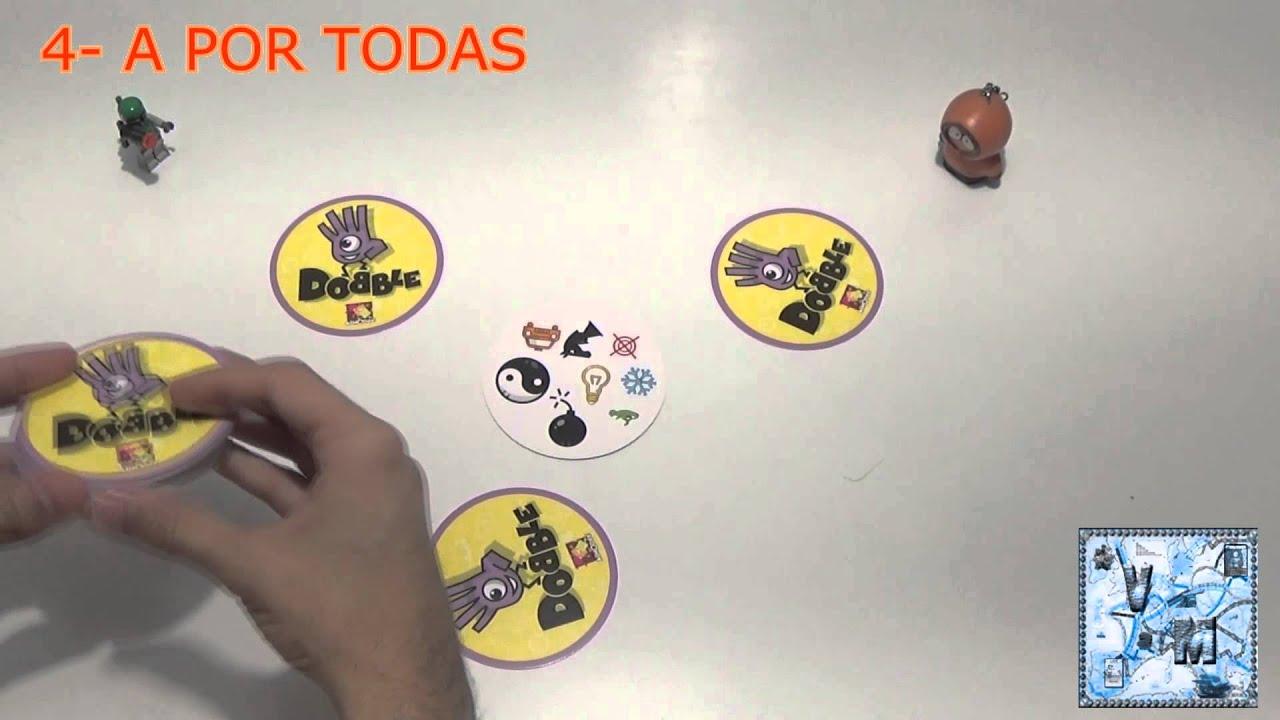 Dobble juego de mesa rese a aprende a jugar youtube for Viciados de mesa