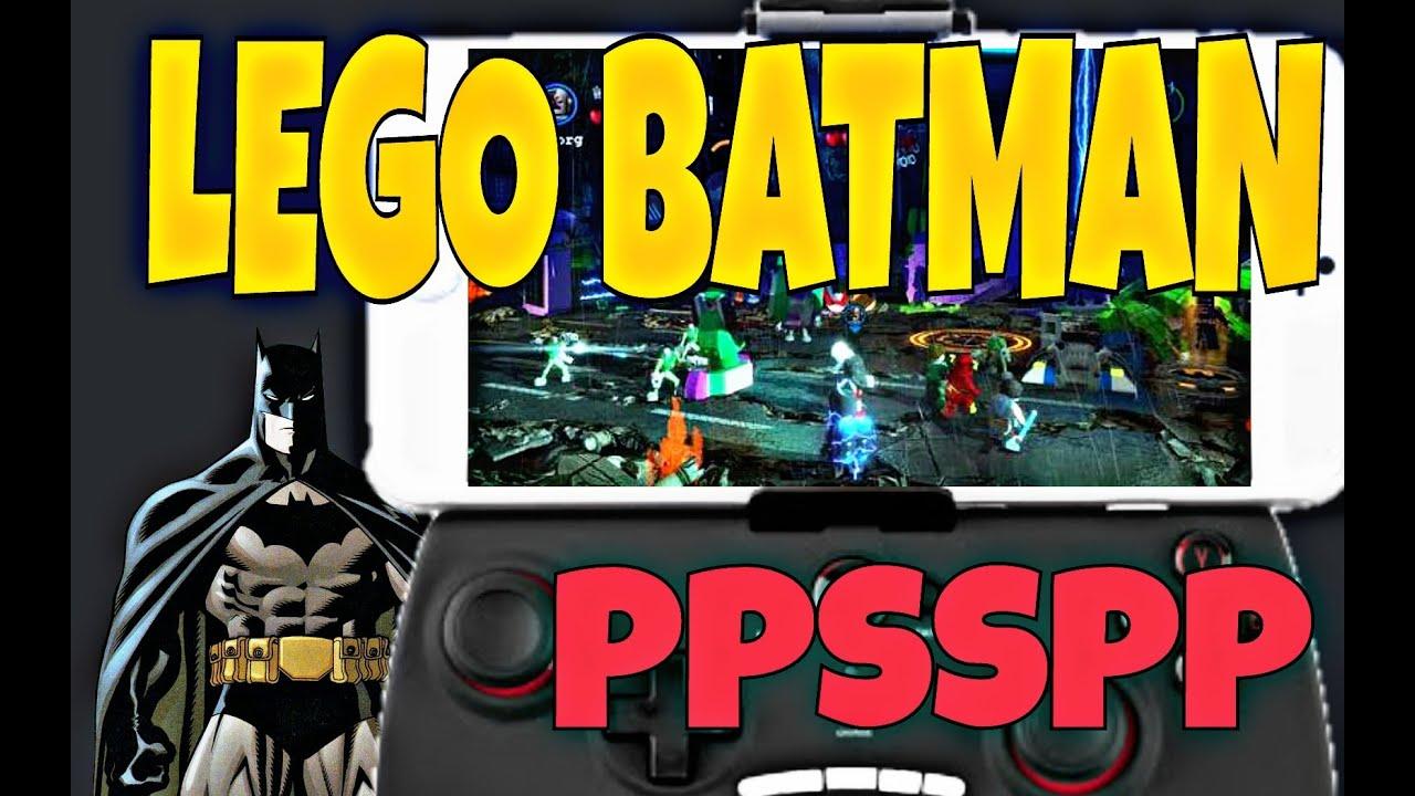 Lego Batman el videojuego para PPSSPP ANDROID - YouTube