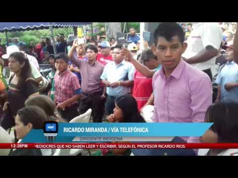 Ricardo Miranda denuncia que su vida corre peligro por su protesta por el acuerdo de Barro Blanco