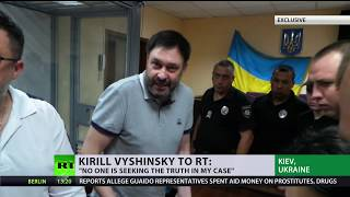 Ukraine will use me for blackmail  - detained Russian journalist Vyshinsky