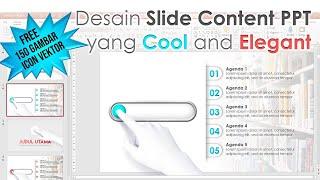 Cara Membuat Desain Slide Isi PPT yang Elegant and Cool