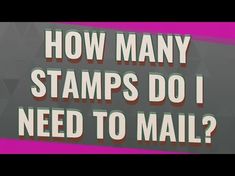 How Many Stamps Do I Need To Mail?