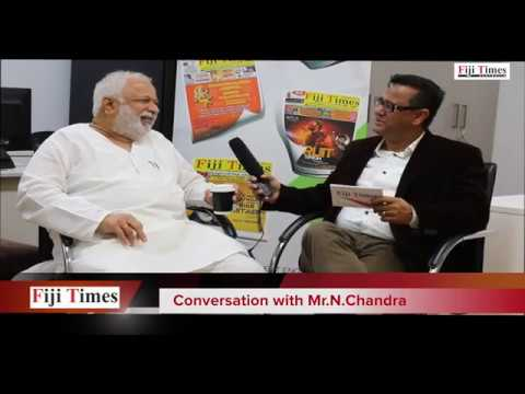 """Underworld Gangs were created after Mills shut down in Mumbai"" says N Chandra to Navniit S Anand"