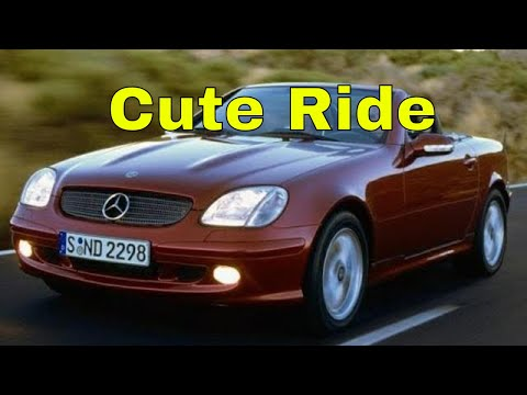 2001 Mercedes Slk230 Kompressor Detailed walk-around interior and exterior | Car-addiction
