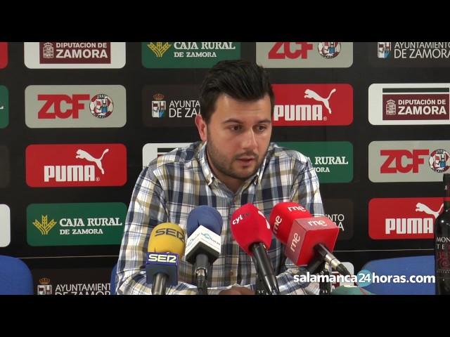 Declaraciones de 'Astu' tras el Zamora CF - Unionistas CF